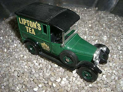TALBOT LIPTONS TEA 1927  MATCHBOX  Made in England by Lesney   nr 10