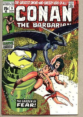 Conan The Barbarian #9-1971 fn Barry Windsor-Smith