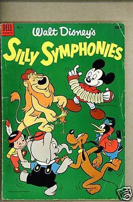 Dell Giant Silly Symphonies #2-1953 vg  Mickey Mouse