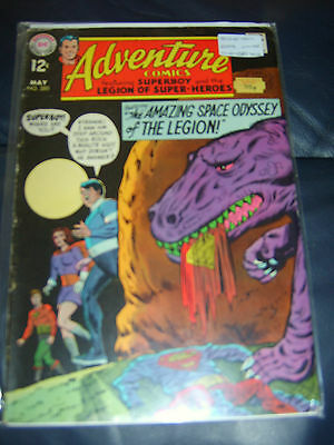 Adventure Comics #380 May 1969 (FN-) Silver Age Starring Superboy & Legion