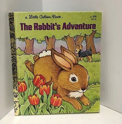 """Cute Children's Book """"the Rabbit's Adventure"""" With An Airedale In It"""