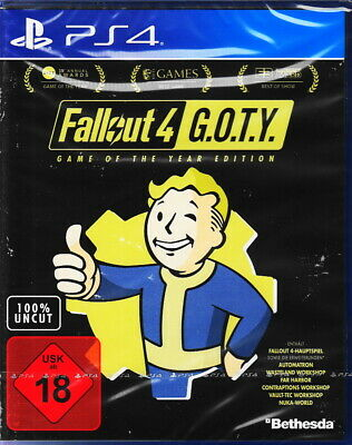 Fallout 4 GOTY - Game Of The Year Edition - PlayStation 4 / PS4 Neu & OVP