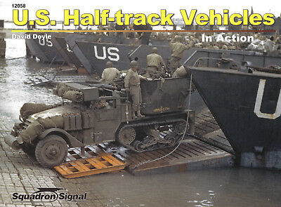2ss12058/ Squadron Signal - In Action - U.S. Half-track Vehicles - TOPP HEFT