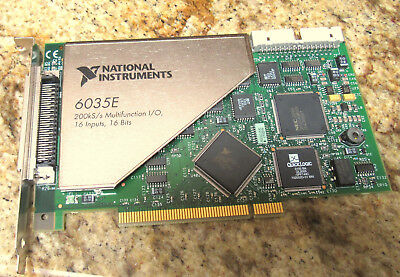 NATIONAL INSTRUMENTS  6035e
