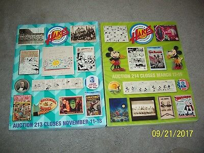 2015 & 2014 HAKE'S Americana & Collectibles Auction #213 & 214 Catalog