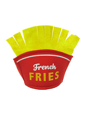 French Fry Fries Hat Fried Potatoes Vendor Food Stand Carnival Fair Costume