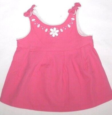 GYMBOREE Daisy Delightful Swing Top Shirt 2T 3T 4T New Pink w/gems Girls Summer