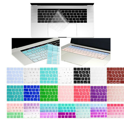 "Silicone Keyboard Cover for MacBook Pro 13""15"" With Touch Bar--RELEASE 2017/2016"