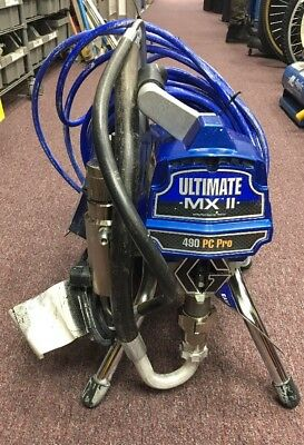 Graco Ultimate MX II 490 PC Pro Airless Paint Sprayer