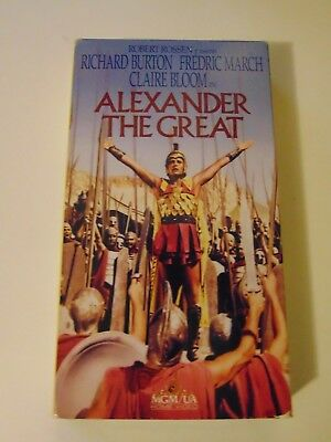 Alexander the Great (VHS, 1994, Vintage Classics Series)