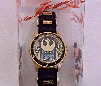 New Star Wars boys watch Rebel Star Wars LCD watch