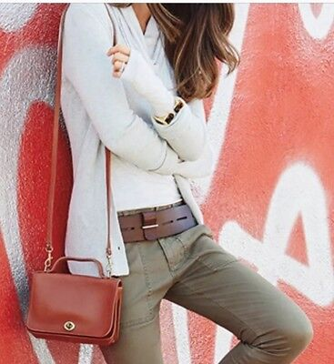 """CAbi New Genuine Leather Waist or Hip Belt """"Here Or There"""" - Medium"""