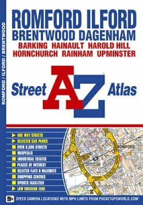 Romford and Ilford Street Atlas by Geographers' A-Z Map Company 9781843486626