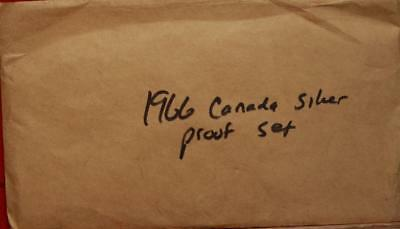 Uncirculated 1966 Canada Silver Proof Set Free S/H!