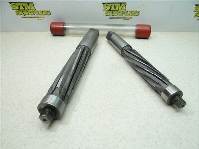 "Pair Of Heavy Duty Expansion Reamers 1-1/8"" & 1-3/8"" M.r.&t. Keystone"