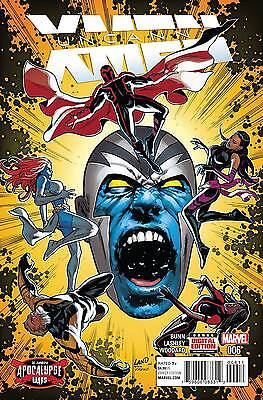 UNCANNY X-MEN #6 (APOCALYPSE WARS), New, First printing, Marvel Comics (2016)