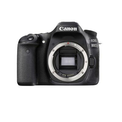Canon EOS 80D DSLR Camera Body Multi (ship lens kit box)
