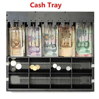 5 Bill 8Coin Cashier Drawer Cash Register Insert Tray Replacement Money Storage