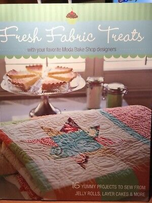 quilting book - FRESH FABRIC TREATS - 16 projects to sew quilt bag wallet pouch