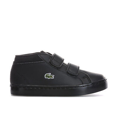 Children Boys Straight Set Chukka Trainers In Black From Get The Label
