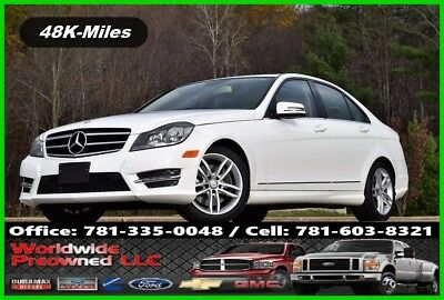 2014 Mercedes-Benz C-Class Mercedes Benz C 300 Sport 4MATIC Sedan C Class 2014 Mercedes-Benz C 300 4MATIC Sport Used 3.5L V6 24V Automatic