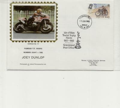 Isle of Man Famous TT Riders Cover, Joey Dunlop, No 8
