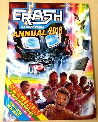CRASH ZX Spectrum Magazine 2018 Annual NEW Christmas Special