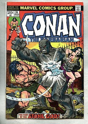 Conan The Barbarian #36-1974 fn+ John Buscema