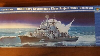 Trumpeter 1:350: Sovremenny class Project 956E destroyer