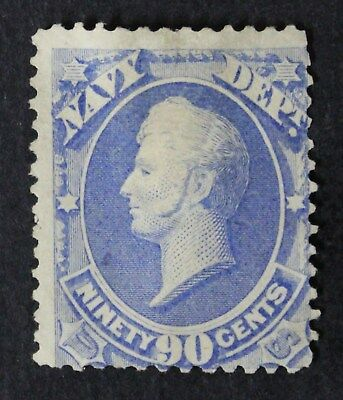 CKStamps: US Official Stamps Collection Scott#O45 90c Unused NG Signed CV$450