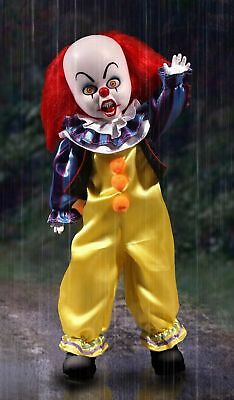 """Living Dead Dolls Presents It 1990: Pennywise The Clown 10"""" Doll/figure (Mezco)"""