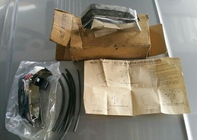 Genuine NOS XA Falcon Front Overiders Kit Ford New Old Stock GS GT ZF Fairlane