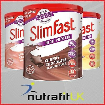 SLIMFAST MEAL REPLACEMENT diet weight loss plan powder protein shake