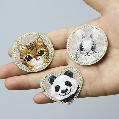Cute Patch Backpack Decor Applique Iron on Badge Stickers on Clothing Jeans Bags