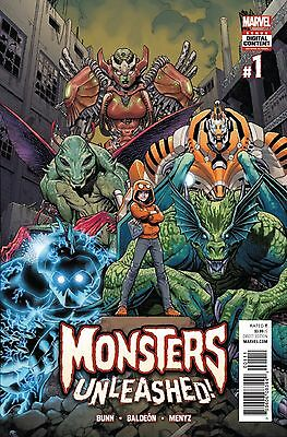 MONSTERS UNLEASHED #1, New, First Print, Marvel Comics (2017)