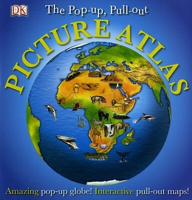 Pop-up, Pull-out, Picture Atlas (Hardcover), DK, 9781405328791