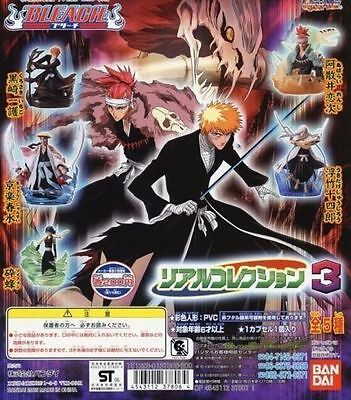 Bandai Bleach Real Collection Part 3 Figure Set of 5