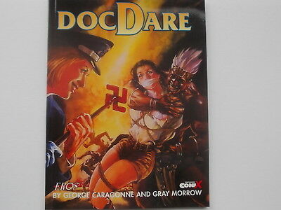 DOC DARE Graphic Novel  By George Caragonne and Gray Morrow
