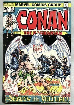 Conan The Barbarian #22-1973 fn+ Barry Windsor-Smith