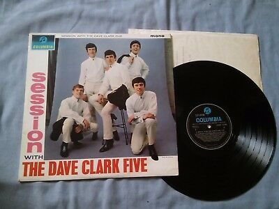 THE DAVE CLARK FIVE<session with the dave clark five>1964 -FIRST UK PRESS-N/MINT