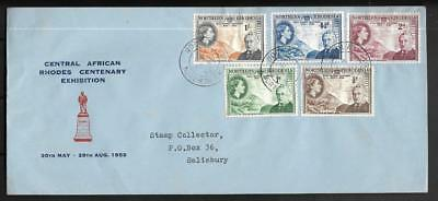 N.rhodesia, Qe11 1963 Rhodes Centenary, On Illustrated Fdc
