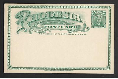 RHODESIA, 1918  1/2d ADMIRAL POST CARD, MINT, NOT USED.