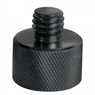 """On-Stage MA-100B 3/8"""" Male to 5/8"""" Female Mic Screw Adapter - Black"""