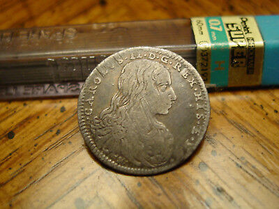 1684 Charles II 10 silver coin