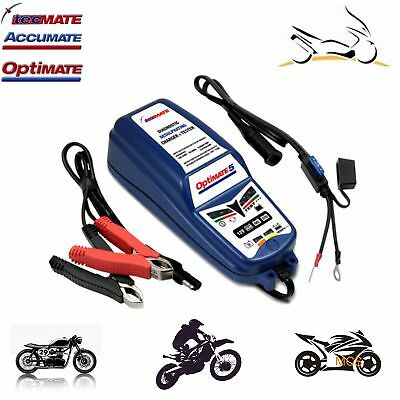 Chargeur Mainteneur Optimate 5 12V 8-120Ah Voiture Moto Scooter Quad