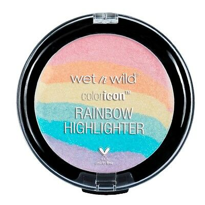 WET N WILD Color Icon Rainbow Highlighter UNICORN GLOW 34891 highlighting powder