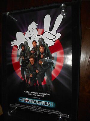 Ghostbusters II Original Rolled One Sheet  Horror  Comedy