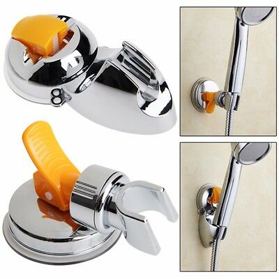 New Adjust Attachable Spray Bath Shower Hand Holder Bracket Mount Suction Cup