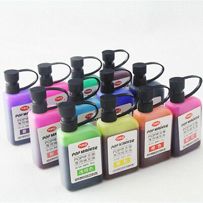 25ml Refill Alcohol Ink For Refilling POP Advertising Poster Marker Pen