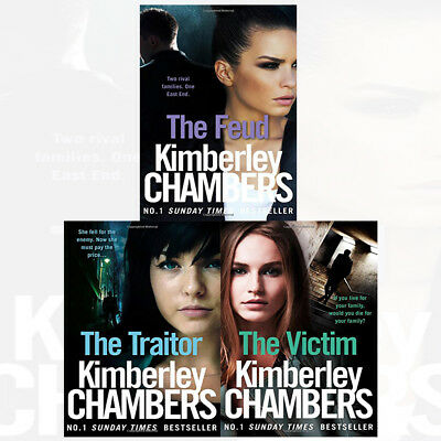 Kimberley Chambers Mitchells and O'Haras Trilogy Collection 3 Books Set Victim